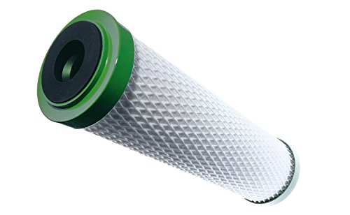 Carbonit Cartuchos de Filtro de Agua Carbón Activo, Color Blanco/Verde, 29x 8x 8cm