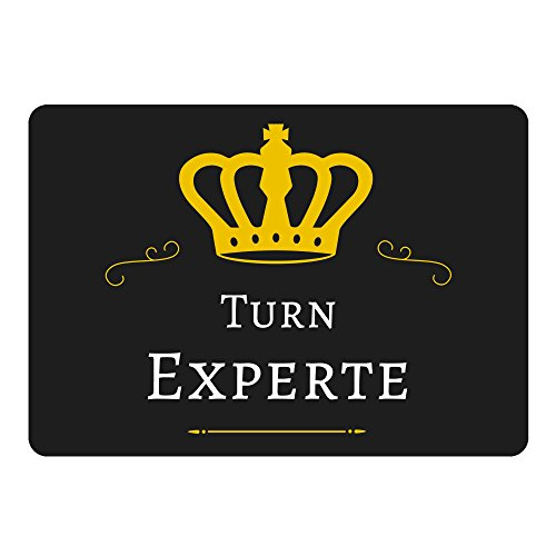 Mousepad Turn Experte schwarz