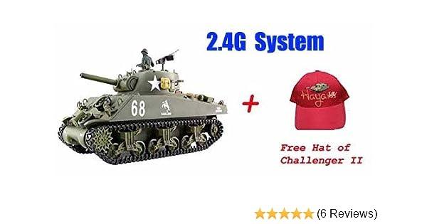 9933f01b131e Heng Long Sherman M4A3 1 16 Scale RC battle Tank --- 2013 Heng long latest  Big Boyz®  Amazon.co.uk  Toys   Games