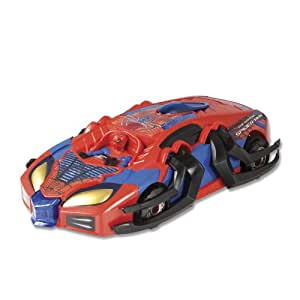 Silverlit - 85447 - Véhicule Miniature - I/R Amazing Spider Attack Transforming Racer - Spiderman