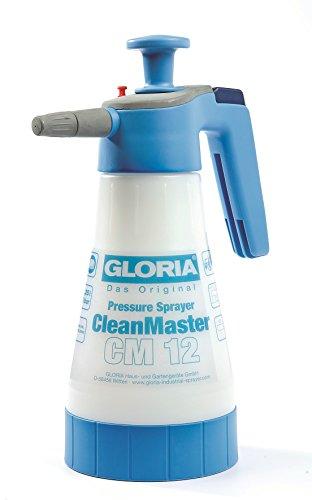 Gloria CleanMaster CM12 Pulvérisateur pour Produit à Base d'Acide, 1,25 Litres