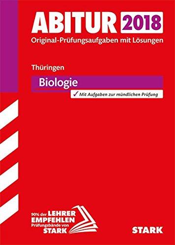 Abiturprüfung Thüringen 2018 - Biologie