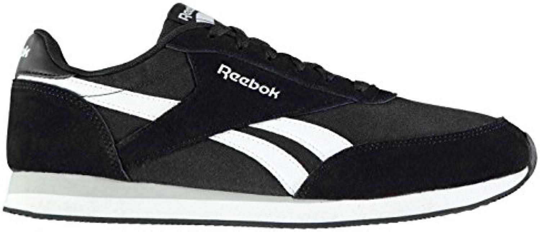 Original Schuhe Reebok Classic Jogger Sneaker Herren Schwarz/Weiß Sport Schuhe Sneakers