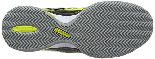 Lotto Esosphere Cly, Chaussures de Tennis homme Noir - Schwarz (BLK/WHT)