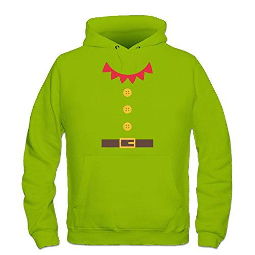 Santas Little Helper Costum Kapuzenpulli by Shirtcity