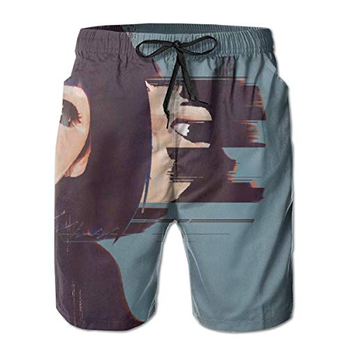 Nacasu Men's Summer Surf Board Shorts Quick Dry Pants with Pockets for Young Man XL