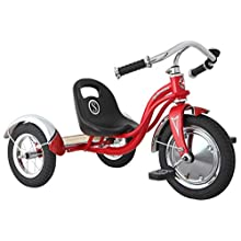 Schwinn Unisex-Youth Roadster Trike, Retro, Kids, Red, One Size, 3-5 years