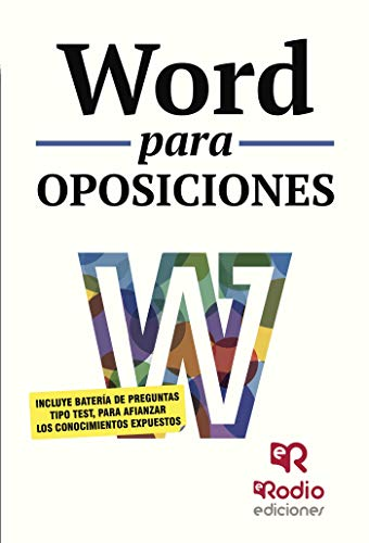 Word para oposiciones eBook: Varios Autores: Amazon.es: Tienda Kindle