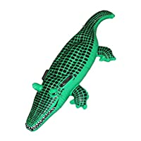 Smiffys 140 cm Crocodile Inflatable