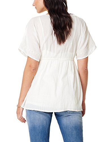 Noppies Damen Umstandsbluse Elfenbein (off White C010)