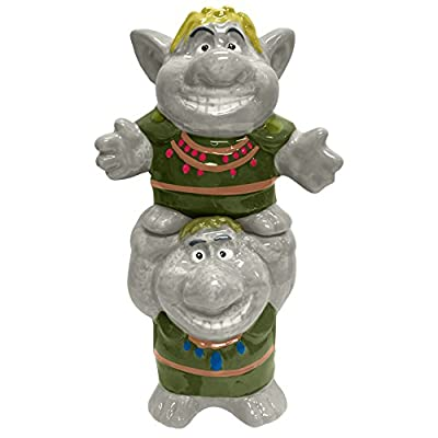 Salt & Pepper Shakers - Disney - Frozen Trolls New Licensed 26419 by Westland