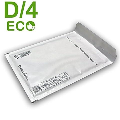 Lot de 100 enveloppes à bulles ECO D/4 format 180x260mm