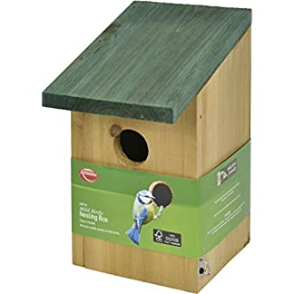 Ambassador Wild Birds Wooden Nesting Box Ambassador Wild Birds Wooden Nesting Box 41KNiGQ PvL