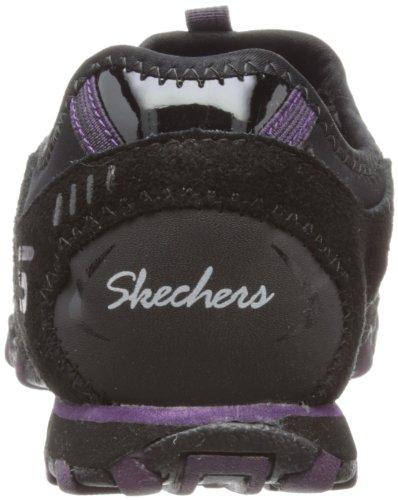 Skechers BikersCandid Damen Sneakers Schwarz (Bkpr)