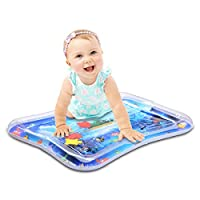 WEY&FLY Inflatable Tummy Time Water Play Mat,Baby & Toddlers is The Perfect Fun time Play Inflatable Water mat,Activity Center Your Baby