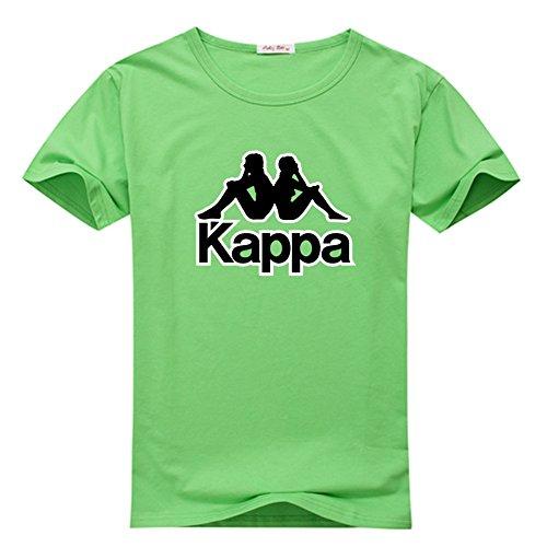 Margaretlowe Kappa Men's Short Sleeve T-Shirt Green