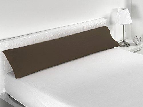Sabanalia Combina - Funda de almohada disponible en varios tamaños, Cama 135 - 155 x 45, Chocolate...