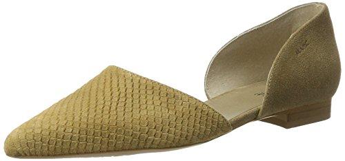 Scarpe Marcate Donna Pisa Chiuse Ballerine Beige (beige)