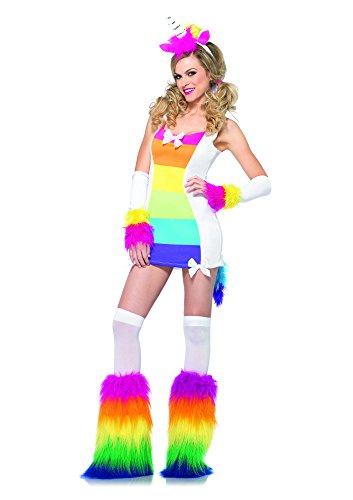 Leg Avenue 85231 - Magisches Einhorn Kostüm Set, 3-teilig, Größe S/M, (Kostüme Magische Einhorn)