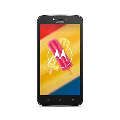 Motorola Moto C Plus Smartphone (12,7 cm (5 Zoll), 1 GB RAM, 16 GB, Android) Starry Black