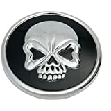 Bouchon réservoir tête de mort pour Harley Davidson (Bouchon ventilé)