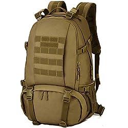 Selighting Mochila Militar 40L Mochila para Viajar en Cabina con Compartimento de Zapatos Gran Bolsas Impermeables al Aire Libre para Caza Camping Senderismo Acampar Escalada
