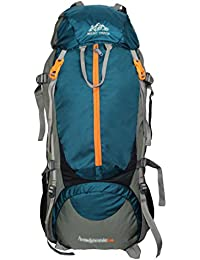 MOUNT TRACK Unisex 80 Ltrs 9106 Aqua Green Rucksack, Hiking & trekking Backpack