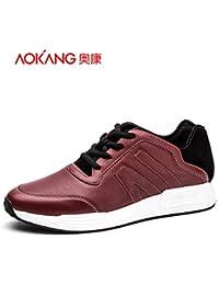 Aemember Hommes décontractées Chaussures Automne Voiture respirante Chaussures os paresseux chaussures d'hommes, des chaussures d'hommes noirs ,42,