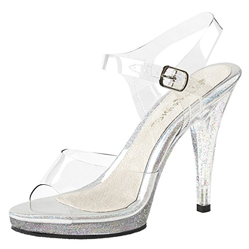 Heels-Perfect Sandales Pour Femme Transparent