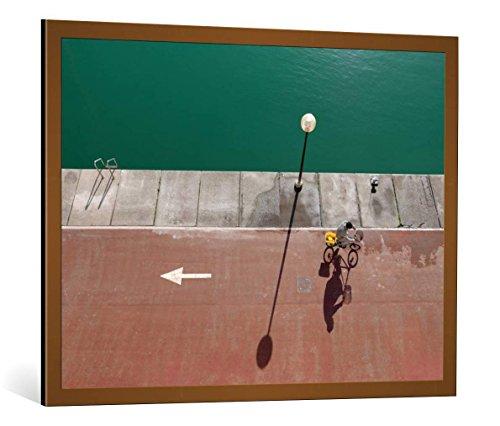 cuadro-con-marco-paolo-luxardo-in-bici-impresion-artistica-decorativa-con-marco-de-alta-calidad-100x