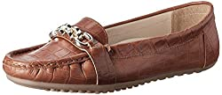 Carlton London Womens Leila Tan Loafers and Mocassins - 4 UK (CLL-3179)