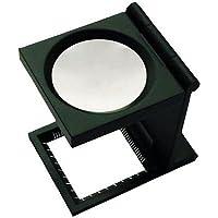 Fadenzaehler 6-fach Metall - Klappbare Lupe