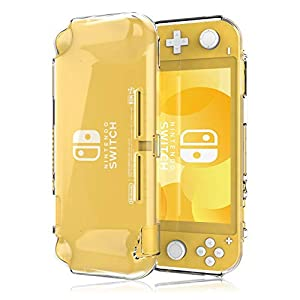 ProCase Nintendo Switch Lite Clear Case, Soft TPU Cover Slim Crystal Clear Shock-Proof Anti-Scratch Protective Case for Nintendo Switch Lite 2019 Release