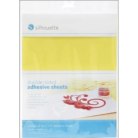 Hojas adhesivas Silhouette de doble cara