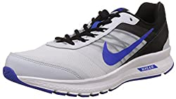 Nike Mens Air Relentless 5 Msl White and Black Running Shoes -10 UK/India (45 EU)(11 US)