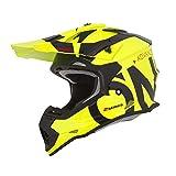 Oneal 2SRS RL Helmet Slick Neon Yellow/Black XL (61/62cm) Casco, Adultos Unisex