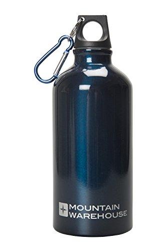 mountain-warehouse-botella-de-acabado-metlico-de-05-l-con-mosquetn-cobalto-talla-nica
