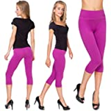 MITAAMI Cropped 3/4 Lenght High Waist Leggings with Control Panel Active Pants LWP342