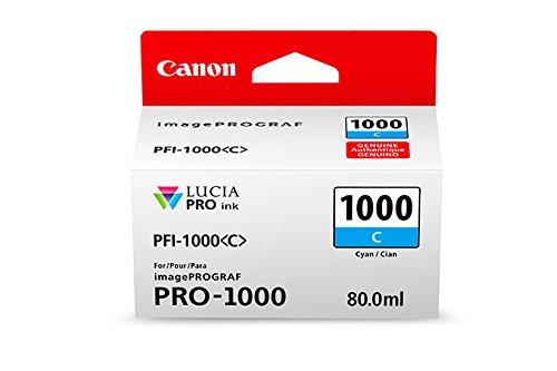 Preisvergleich Produktbild CANON PFI-1000c Tinte cyan Standardkapazität 80ml 1er-Pack iPF1000