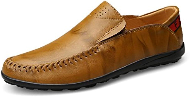 Leder Schuhe Pedal Fahrschuhe Herrenschuhe Business Casual Lazy Schuhe