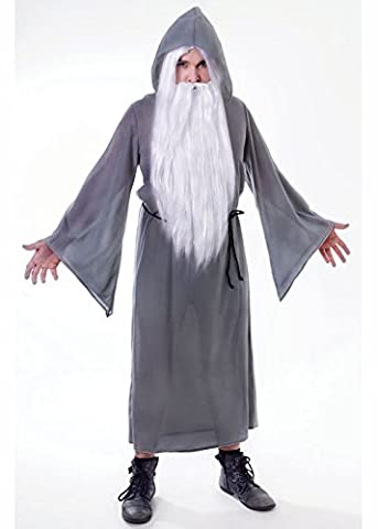 Gandalf Le Gris - Adulte Gandalf Style Assistant gris Robe