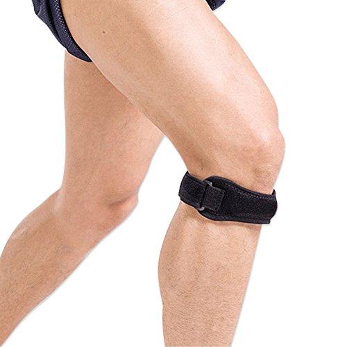 Patella Knee strap Sycotek regolabile per ginocchio..