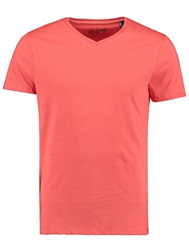 Herren T-Shirt O'Neill Jacks Base V-Neck T-Shirt deep sea coral