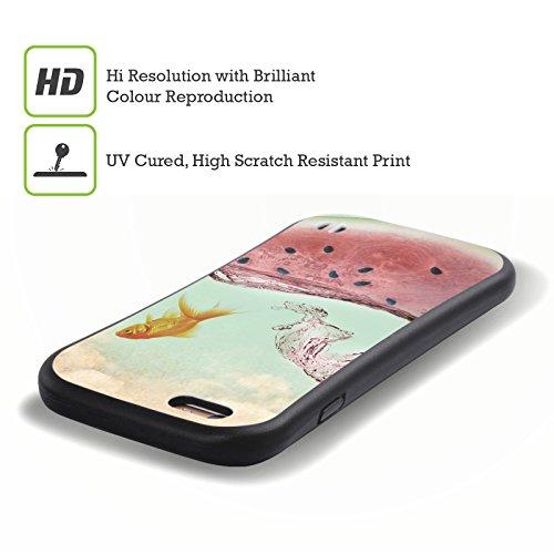 Offizielle Vin Zzep Wassermelone Goldfisch Fisch Hybrid Hülle für Apple iPhone 5 / 5s / SE Wassermelone Goldfisch