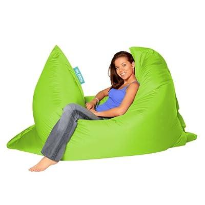 Bazaar Bag - Giant Bean Bag Chair, 180cm x 140cm, Large Indoor Living Room Gamer Bean Bags, Outdoor Water Resistant Garden Floor Cushion Lounger