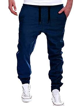 Zhhlaixing Pantalones Jogger Hom