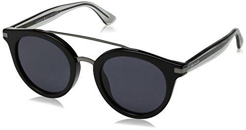Tommy Hilfiger Damen TH 1517/S IR 807 48 Sonnenbrille, Schwarz (Black/Grey),