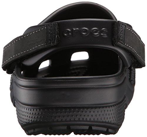 crocs Herren Yukonmesaclog Clogs, Khaki Schwarz (Black/Black)