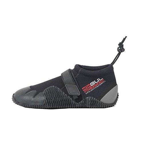 Gul Strapped Slipper 3mm Titanium Shoe BLACK / GREY BO1265