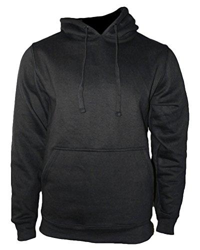 ROCK-IT Apparel® Kapuzenpullover Hoodie Workerhoodie Kapuzen Sweatshirt - Herren - Größe XS-5XL - 380g hochwertig und sehr Soft - Schwarz Original von Rock-IT 3X-Large